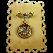 Unique Doll Watch Pin, Antique & Vintage Parts