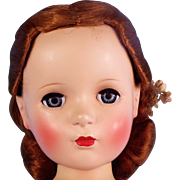 "21"" Madame Alexander Red-Haired All-Original Nina Ballerina"
