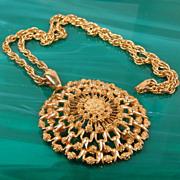 Bold & Chunky Pendant Necklace