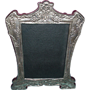 Beautiful Vintage Sterling Silver Picture Frame, Bows and Flowers