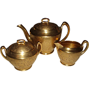 Fine Antique Pickard Teaset, Mint