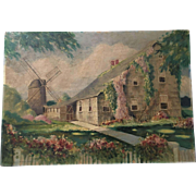 Forest Ages McGinn Oil Painting Country Home - Stunning