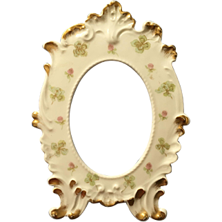 Antique French Limoges Picture Frame