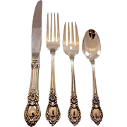 Stanton Hall by Oneida Sterling Silver Flatware Set for 12 Service 48 pieces