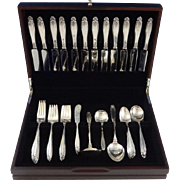 Prelude by International Sterling Silver Flatware Set 12 Service 76 Pieces