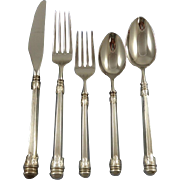 Olympia by Wallace II Sterling Silver Flatware Set For 12 Service 64 Pieces
