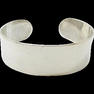 Arts & Crafts Sterling Silver Handmade Lebolt Bracelet