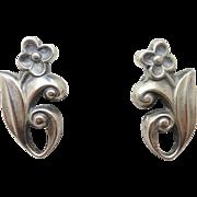 La Paglia Sterling Flower Earrings #214