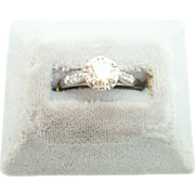 18K Diamond Engagement Ring with 3/4 carat