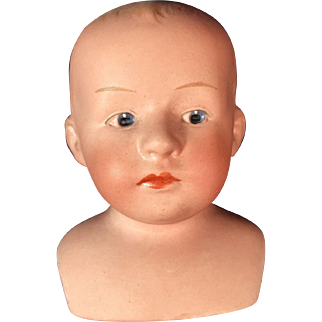 Heubach Shoulder Plate Head - Boy