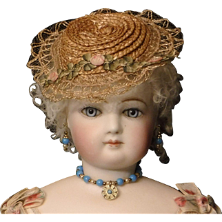 Doll Necklace and Earring Set for French Fashions