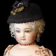 French Fashion Doll Hat