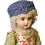 Vintage Crocheted Doll Hat