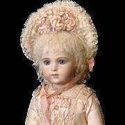 Wired Silk Bebe Doll Bonnet
