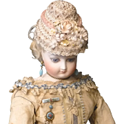 French Style Doll Hat