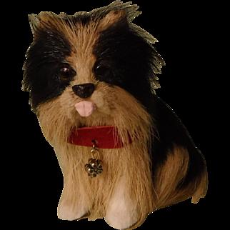 Vintage Fur dog