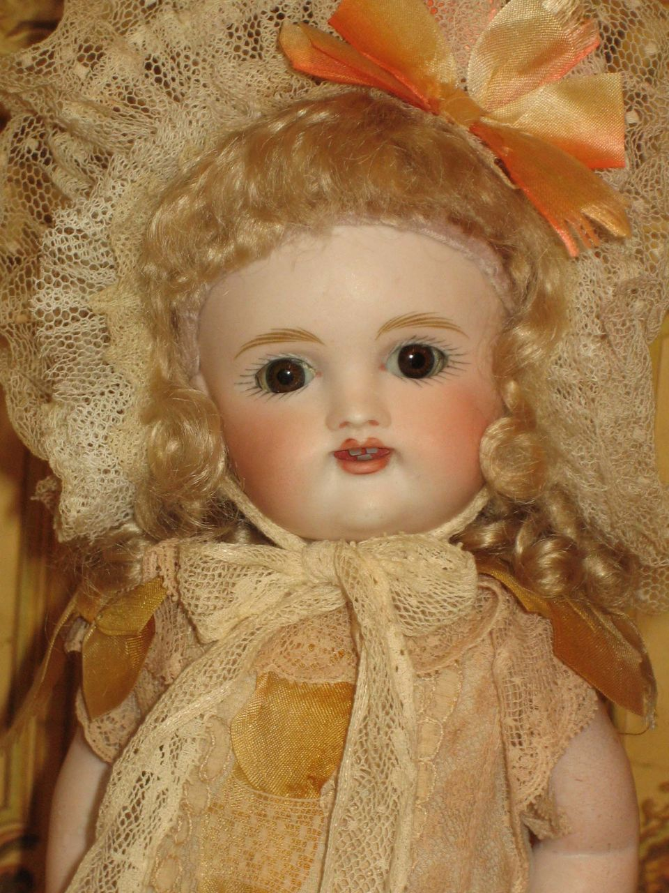 Rare Large 9 189 All Bisque Doll From Annpruett Phillips