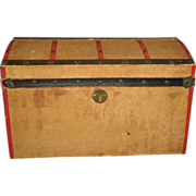 French Fashion Domed Trunk