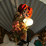 Fabulous Haute Couture Paris French antique Doll's hat.