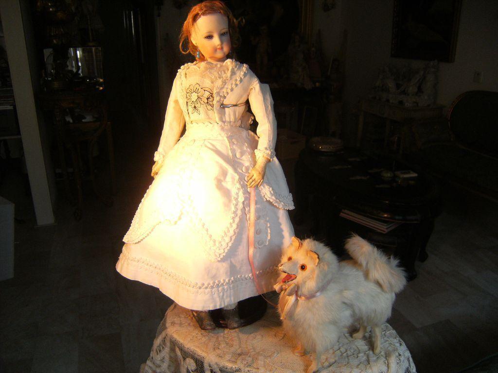 "Beautiful ""Pomeranian"" dog for your French fashion doll."