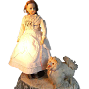 "Beautiful ""Pomeranian"" dog for your French fashion doll."