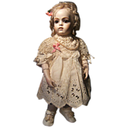 Lovely cute antique dress for 30cm 12 inch doll.