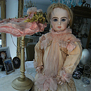 *****ON HOLD for EMMA.Top Haute Couture French antique dress for a doll from about 62cm or 24,5 inch.