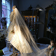 Wooww.....this Royal Highness Empress Sissy's Bridal gown......now here in my shop.