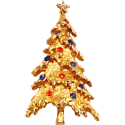 ART Signed Christmas Tree Pin - Book Piece!