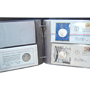 Postmasters of America Medallic First Day Covers 1972