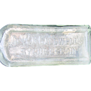 Dr WB Caldwell Syrup Pepsin bottle, Apothecary, Quack Medicine