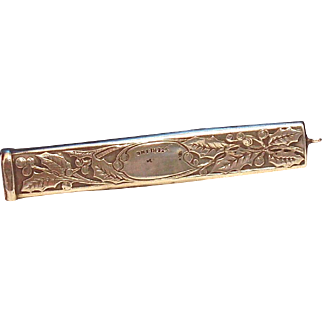 Sterling Chatelaine Victorian Pencil