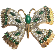 Butterfly - JJ pin - vintage Jonette brooch