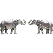 Elephant - JJ pierced earrings