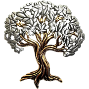 Tree - JJ pin brooch