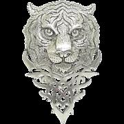 Tribal Tiger - JJ pin brooch
