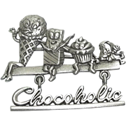 Chocoholic - Spoontiques pin - Chocolate