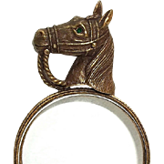 Horse Equestrian Magnifying Glass - JJ collectible
