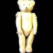 "1 1/2"" Tiny Jointed Porcelain Teddy Bear Miniature"