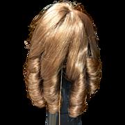 """Vintage Auburn 7""""-8"""" Monique Wig"""
