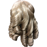 "Vintage Blonde Wig 10"" New Old Stock"