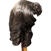 """Vintage Brown Doll Wig 12-13"""" New with Tags"""