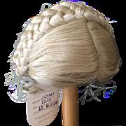 "Vintage Blonde Doll Wig 13"" - 14"""