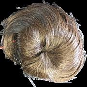 "Vintage Human Hair Toddler Doll Wig 8"" - 9"""
