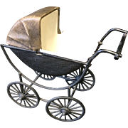 Dolls Pram for Small Doll or Doll House