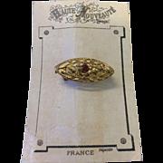 Vintage Gold Doll Broach