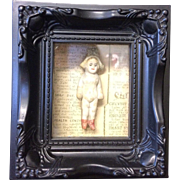Antique Doll Shadow Box