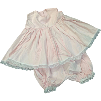 Lovely Pink Cotton Petticoat & Pants