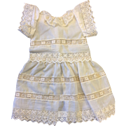 Lovely vintage Hand Sewn Cotton Dress