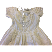 Victorian Childs Cotton Dress or Christening Gown